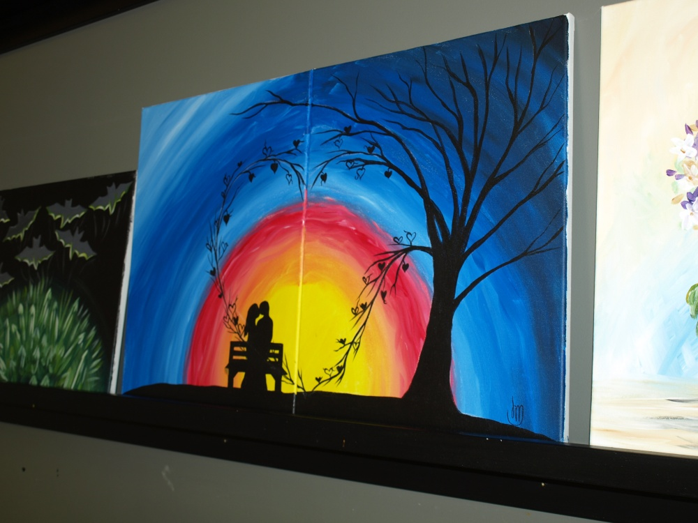 Painting with a Twist Jacksonville FL story by Mike Kuusela